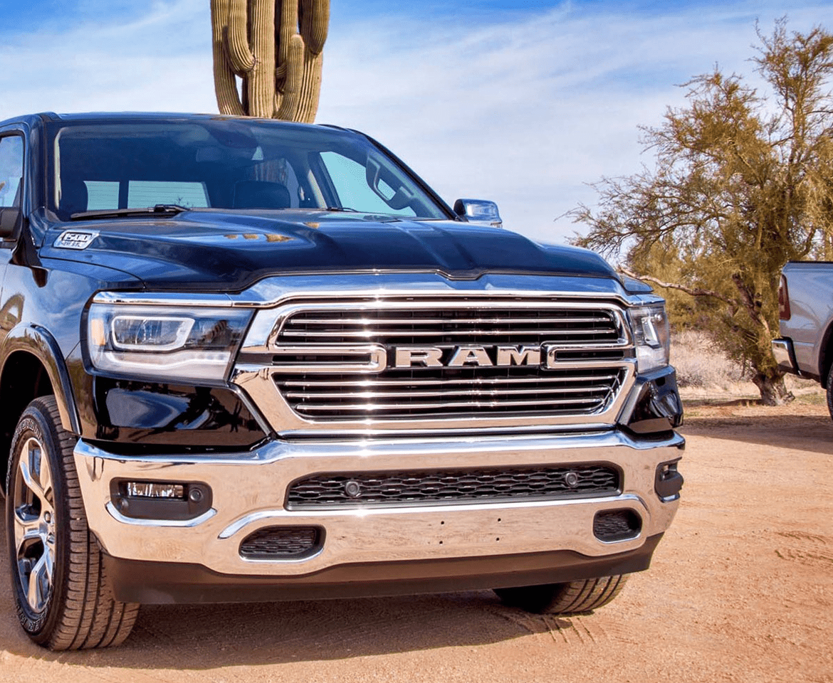 Lacks Exterior Trim: Laramie Bright Chrome