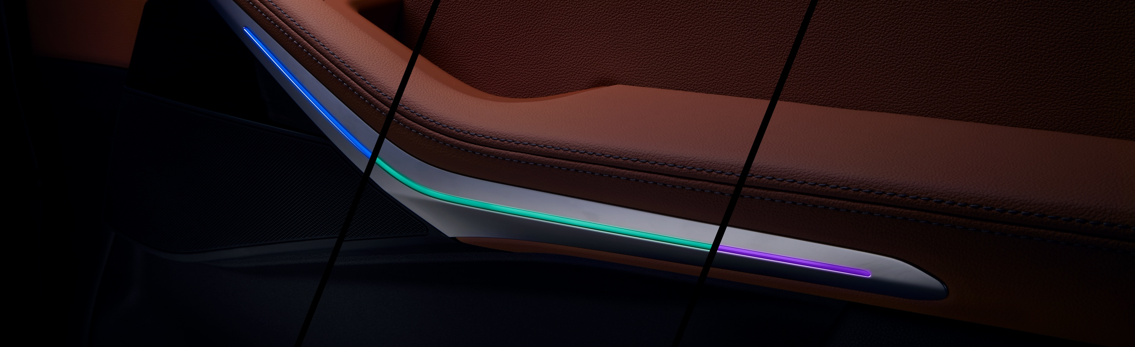 BMW X5 Interior Lighting with Lacks