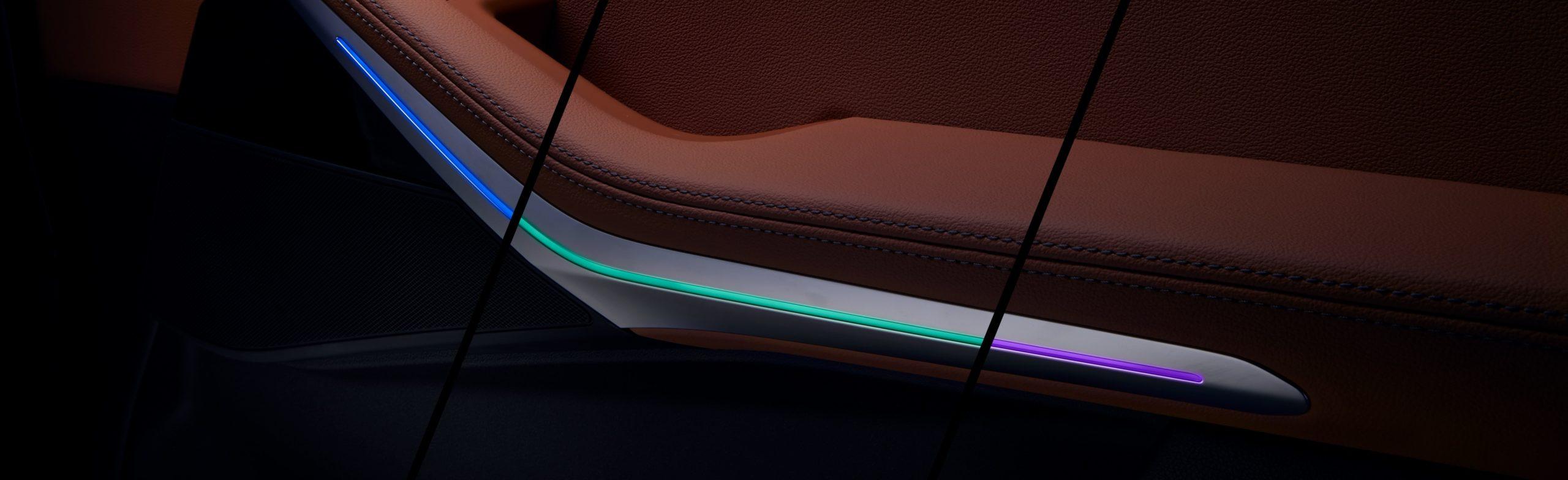BMW X5 Interior Lighting with Lacks